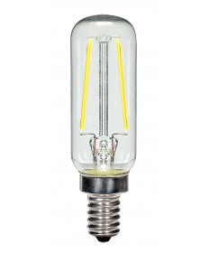 Satco S9872 2.5T6/LED/CL/27K/E12/120V 2.5 Watts 120 Volts 2700K LED