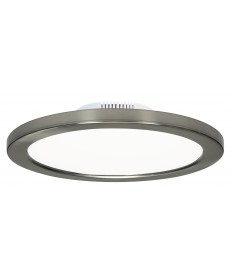 "Satco S9883 12W/LED/7""FLUSH/3K/BN/SL 12 Watts 120/277 Volts 3000K LED"