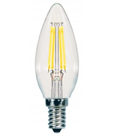 Satco S9961 5.5W CTC/LED/30K/CL/120V 5.5 Watts 120 Volts 3000K LED