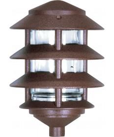 Nuvo Lighting SF76/633 Pagoda Garden Fixture Small Hood 1 light 3