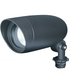 "Nuvo SF76/645 1 Light 6"" Landscape Flood PAR16 Dark Bronze"