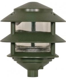 Nuvo Lighting SF77/323 Pagoda Garden Fixture Small Hood 1 light 2 Tier