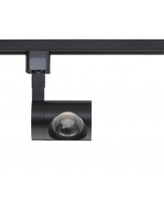 Nuvo Lighting TH442 1 Light LED 12W Track Head Pipe Black 24 Deg. Beam