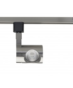 Nuvo Lighting TH447 1 Light LED 12W Track Head Pipe Brushed Nickel 24