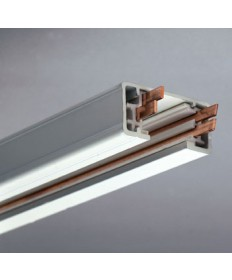PLC Lighting TR248 WH Track Lighting Two-Circuit Accessories