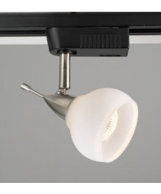 PLC Lighting TR92 SN Track Lighting 1 Light Aspen Collection TR92 OPAL