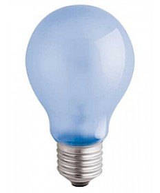 Satco S4816 Satco A19F60VLX 60 Watt 120 Volt A-19 E26 Medium Base Frosted Neodymium Full Spectrum Light Bulb