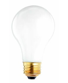 Satco S1824 Satco 30/70/100A19/W 30-70-100 Watt 120 Volt A19 Medium Base 3-Way Soft White Light Bulb