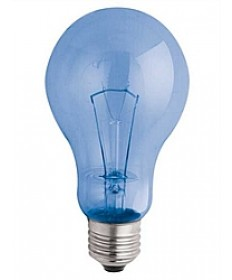 Satco S4821 Satco A21C100VLX 100 Watt 120 Volt A21 E26 Medium Base Clear Neodymium Full Spectrum Light Bulb