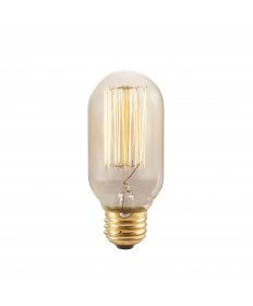 Bulbrite 134015 NOS40T14/SQ 40-Watt T14 Nostalgic Thread