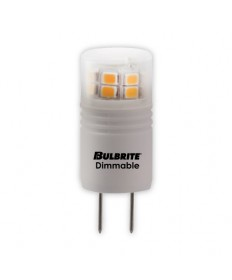 Bulbrite 770570 | 3 Watt Dimmable LED G8 Bulb, G8 Base, Soft White