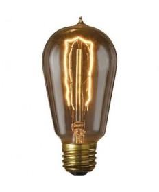 Bulbrite 860146 | 40 Watt Nostalgic Incandescent Edison ST18, Hairpin 6-Pack