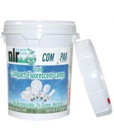 Satco COMBAKPAK Satco Recycle Fluorescent Tubes - Bulbs 5 Gallon Pail