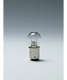 Satco E1142 Satco 18.43 Watt (1.6 Amp) 12.8 Volt S8 Double Contact Bayonet Base Clear Miniature Light Bulb