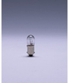 Satco E1408 Satco 1.3 Watt (0.13 Amp) 10 Volt T3.25 Miniature Bayonet Base Clear Miniature Light Bulb