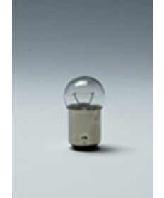 Satco E/82 Satco 6.63 Watt (1.02 Amp) 6.5 Volt G6 DC Bayonet Base Clear Miniature Light Bulb