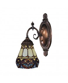 ELK Lighting 071-TB-21 Mix-n-match 1 Light Sconce in Tiffany Bronze