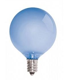 Satco S2974 Satco G16.5F40VLX 40 Watt 120 Volt G16.5 E12 Candelabra Base Globe Frosted Neodymium Natural Spectrum Globe Light Bulb