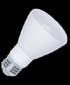Halco 80110 R20FL5/850/LED LED R20 5W 5000K Dimmable E26 ProLED