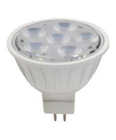 Halco 81121 MR16FL5/830/LED LED MR16 5W 3000K DIMMABLE 40DEG GU5.3