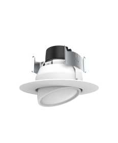 "Halco 99966 ADL4FR9/927/LED 4"" Round Adjustable LED Downlight, 2700K"