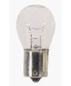 Satco S6896 Satco 2.1 Amp 12.8 Volt S8 Single Contact Bayonet Base Amber Miniature Light Bulb