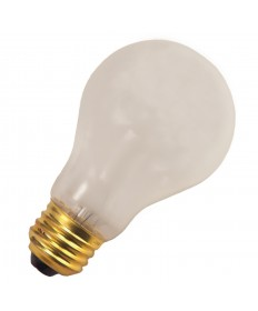 Halco 76015 A19FR100/RS Incandescent A19 100W RS FROSTED 130V  E26