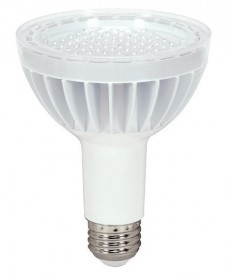 KolourOne Satco S8948 14PAR30LN/LED/40/3500K/WH 2.0 Satco 14-Watt PAR30 Long Neck