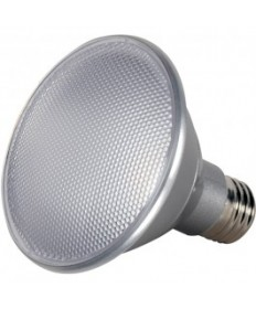 SATCO S9424 | LED 50W Equal PAR30 Silver Wide Flood 60 Degree Natural Light 5000K