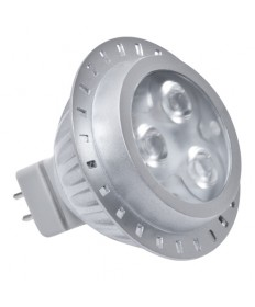 Halco 80726 MR16/3M4GRN/NFL/LED LED MR16 4.5W 22DEG GREEN GU5.3 PRO