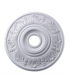 ELK Lighting M1004WH Laureldale Lauerdale Medallion 21 Inch in White Finish