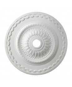 ELK Lighting M1008WH Brookdale Medallion 30 Inch in White Finish