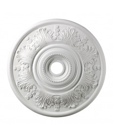 ELK Lighting M1014WH Laureldale Lauerdale Medallion 30 Inch in White Finish