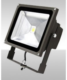 MaxLite 77091 FLS50U50B MaxLite 50-Watt LED Small Yoke Wide Flood Light
