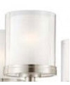 Nuvo Lighting 25/4542 Decker 5 Light Chandelier 1 x Replacement Outer Clear Glass