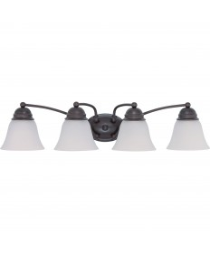 Nuvo Lighting 60/3168 Empire 4 Light 29 inch Vanity with Frosted White Glass