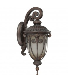 Nuvo 60/3926 Corniche Collection 1-Light Small Outdoor Wall Latern