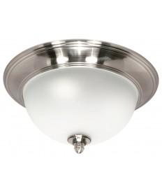 Nuvo Lighting 60/619 Nuvo Palladium 3-Light Large Dome Flush