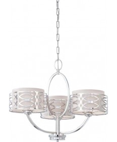 Nuvo Lighting 60/4624 Nuvo Harlow Collection Chandelier 3-Light