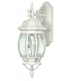 Nuvo Lighting 60/891 Central Park Collection 3-Light Wall Lantern