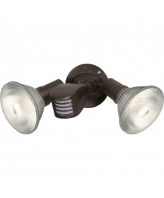 Nuvo Lighting 76/503 2 Light 10 inch Flood Light, Exterior PAR38 w/Adjustable Swivel & Motion Sensor