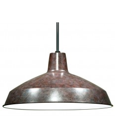 Nuvo 76/662 | Nuvo 16''  Warehouse Shade Pendant Old Bronze 1-Light