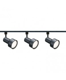 Nuvo Lighting TK321 Nuvo 3-Light Black R30 Track Lighting Kit