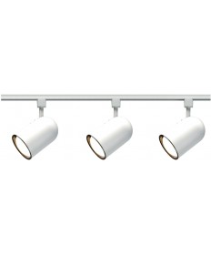 Nuvo Lighting TK322 Nuvo 3-Light White R30 Track Lighting Kit