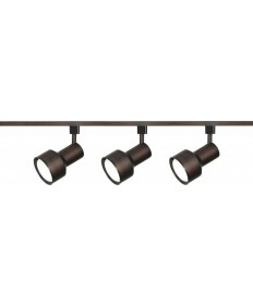 Nuvo Lighting TK361 3 Light R30 Step Cylinder Track Kit