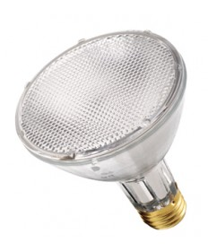 Satco S4879 Satco CDM70PAR30L/M/FL 70 Watt PAR30L Medium Base Long Neck 3000K Flood 30 Degree Metal Halide Light Bulb