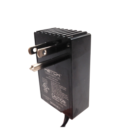 Hatch Transformers PS12-60LBNW - 60 Watt - Electronic Low Voltage - Plug-In - Transformer