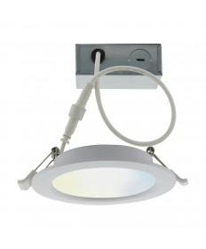 Satco S11261 Satco Starfish Smart Bulb 10 Watt LED Direct Wire Downlight 4 Inch Tunable White Round 120 Volt