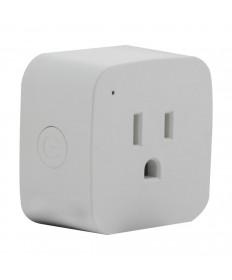 Satco S11269 Satco Starfish WiFi Smart Plug 120V Outlet 10 Amp Mini Square (2-Pack)