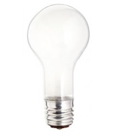 Satco S1822 Satco 100/200/300PS25/W 100/200/300W 120V PS-25 Mogul Base Soft White Three Way Incandescent Light Bulb